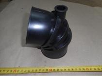 555102-1109375-010 Переходник на воздушный фильтр н/о (с отводом, д-р 90 мм)