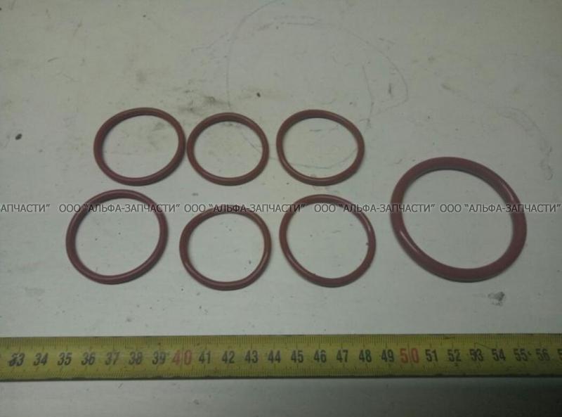 740.1303000-РК2 Ремкомплект системы охлаждения КАМАЗ (силикон красный)