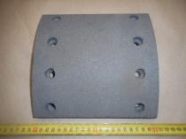 99859-3502105 Накладка тормозной колодки (комплект на ось 8шт. 420мм/200мм) сверленая с заклепками
