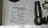 6422-3003056-РК П Ремкомплект наконечника рулевого КрАЗ, МАЗ 6 поз.(палец,сухари,пружина,гайка,пыльн