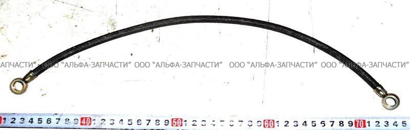 238-1111614 Трубка подвода масла к топливному насосу L=440 мм (НЧ)