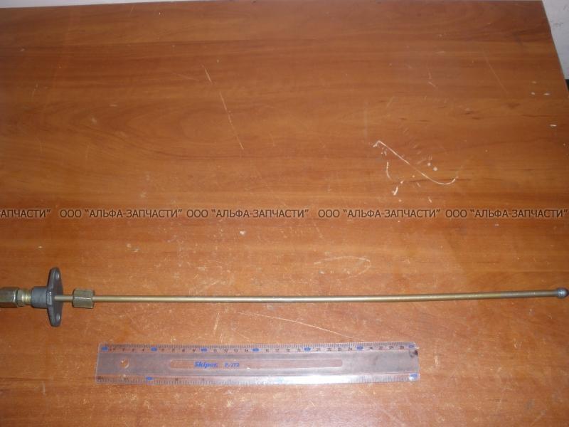 7511.1104308-10 Трубка топливная высокого давления с фланцем в сборе (под общ головку) (L= 570 мм)