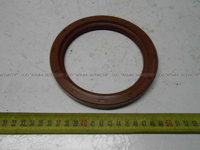 210-3104036 Сальник с пружиной (114x145) (красный)