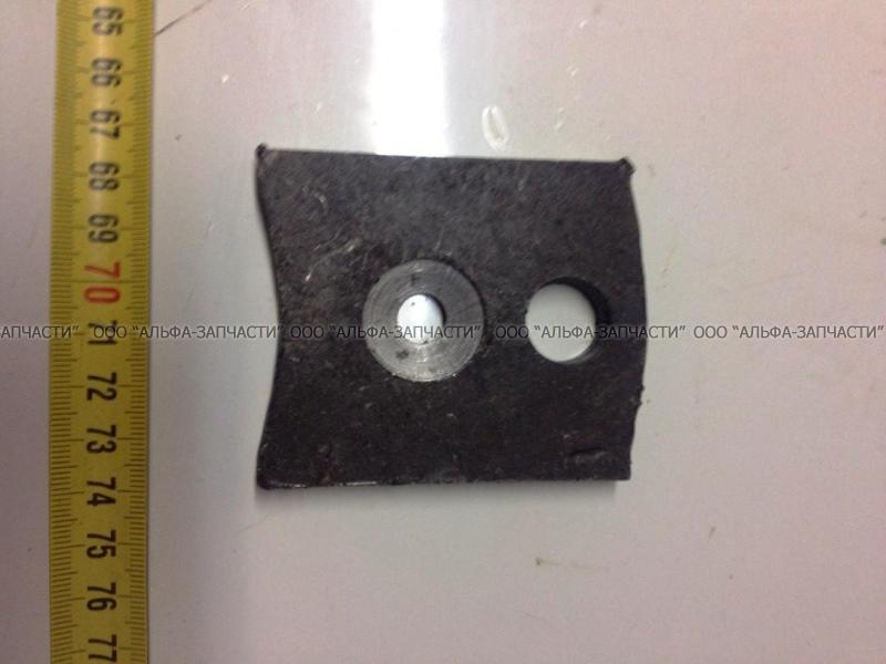 500-2912448-Б Вкладыш боковой заднего кронштейна (флажок) (НЧ)