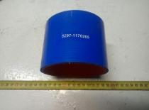 5297-1170265 Патрубок КАМАЗ-ЕВРО интеркулера силикон (L=90мм,d=100)
