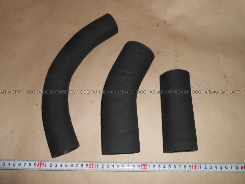 130-1303010/25/26 Патрубки радиатора ЗИЛ-130  комплект (3шт)